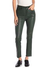 rag & bone High Waisted Lambskin Leather Pants