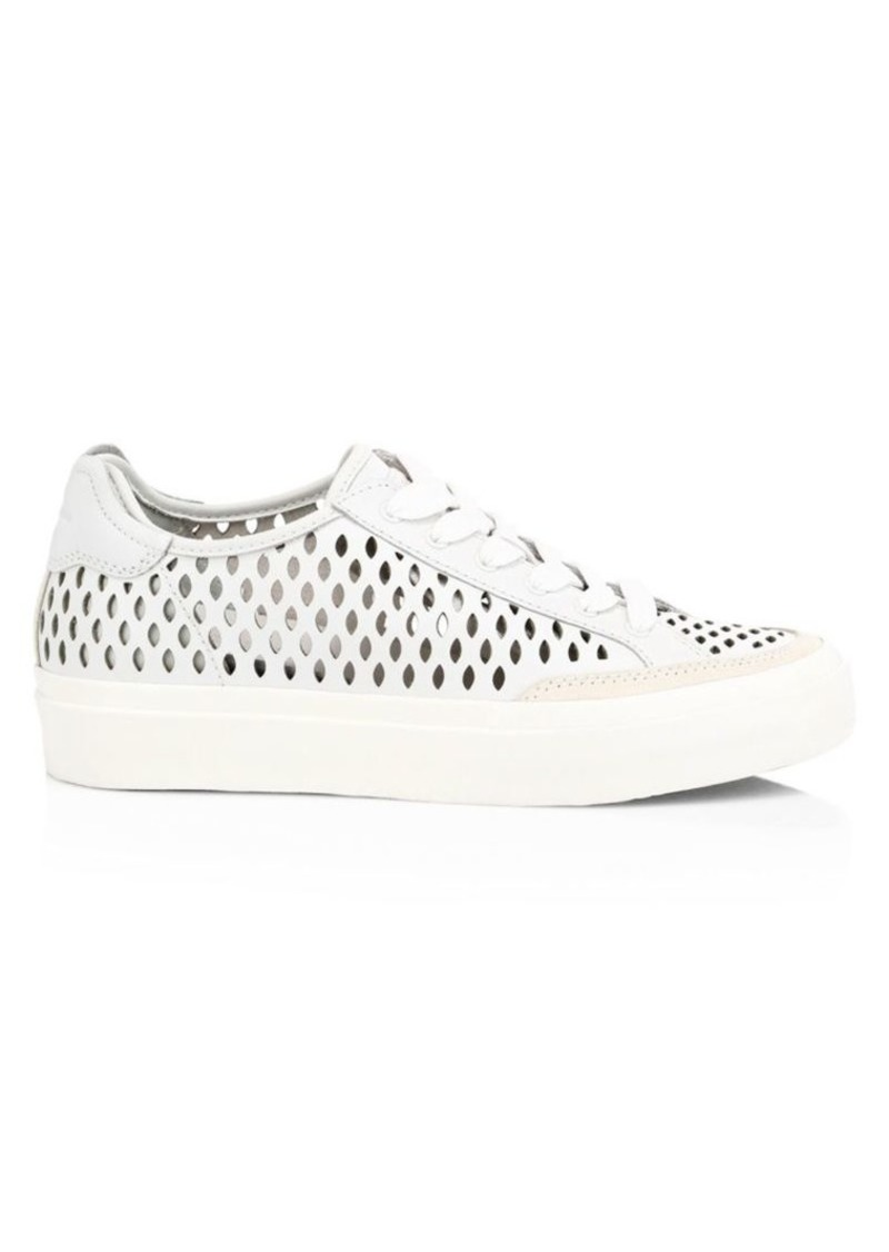rag & bone RB Army Low-Top Perforated Leather Sneakers