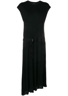 Rag & Bone asymmetric tie waist dress