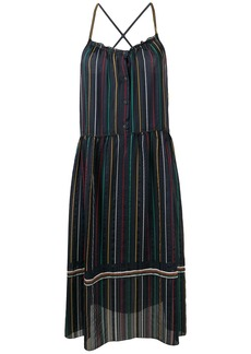 rag & bone Austin striped midi dress