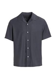 rag & bone Avery Relaxed-Fit Rayon Shirt