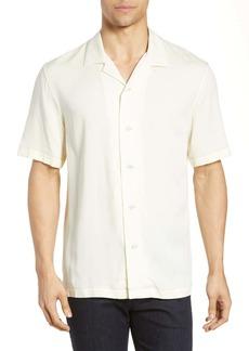 rag & bone Avery Slim Fit Short Sleeve Button-Up Camp Shirt
