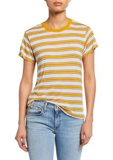 Rag & Bone Avery Striped Short-Sleeve Tee