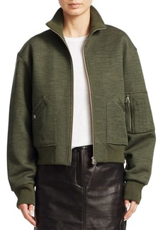 Rag & Bone Aviator Wool-Blend Bomber Jacket