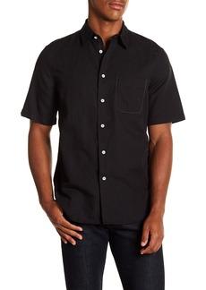 rag & bone Beach Short Sleeve Trim Fit Trim Fit Shirt