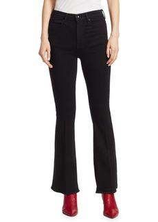 Rag & Bone Bella High-Rise Slit Hem Bootcut Jeans