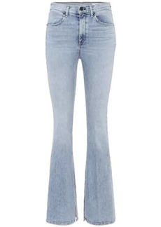 rag & bone Bella high-waisted flare jeans