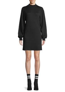 Rag & Bone Bigsby Mock-Neck Long-Sleeve Shift Dress