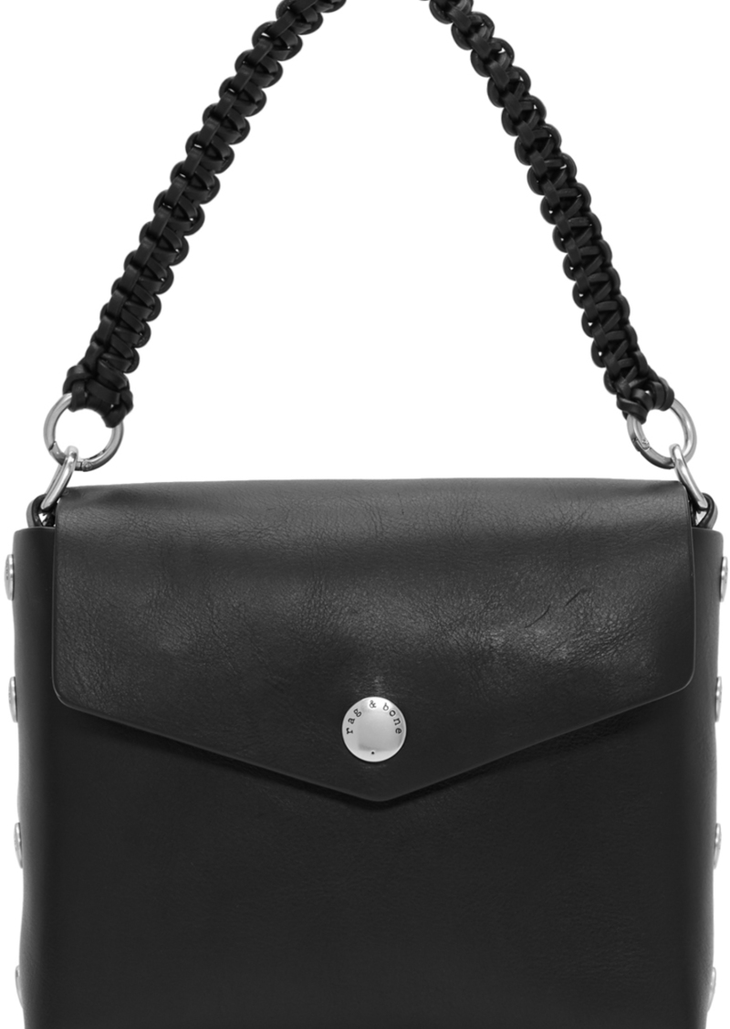 rag & bone Black Atlas Shoulder Bag