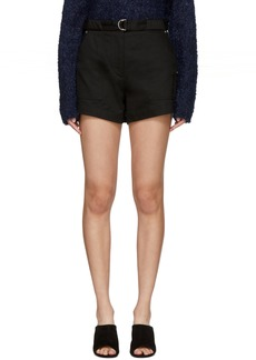 Rag & Bone Black Lora Shorts