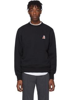 rag & bone Black Pizza Rat Sweatshirt
