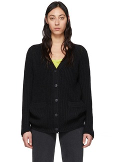 rag & bone Black Wool Joseph Cardigan
