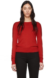 rag & bone Black Wool Pak Crewneck Sweater