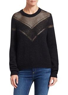 Rag & Bone Blaze Lurex Knit Sweater