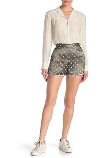 rag & bone Bonnie Polka Dot Print Shorts