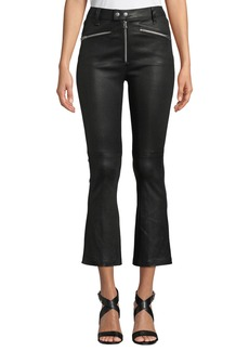 Rag & Bone Braxton Faux-Leather Cropped Pants