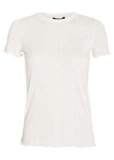 rag & bone Bre Swiss Dot T-Shirt