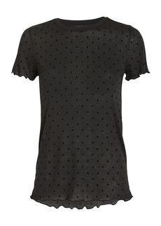 rag & bone Bre Swiss Dot T-Shirt