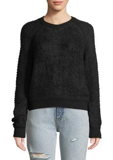 Rag & Bone Brooke Wool-Blend Crewneck Pullover Sweater