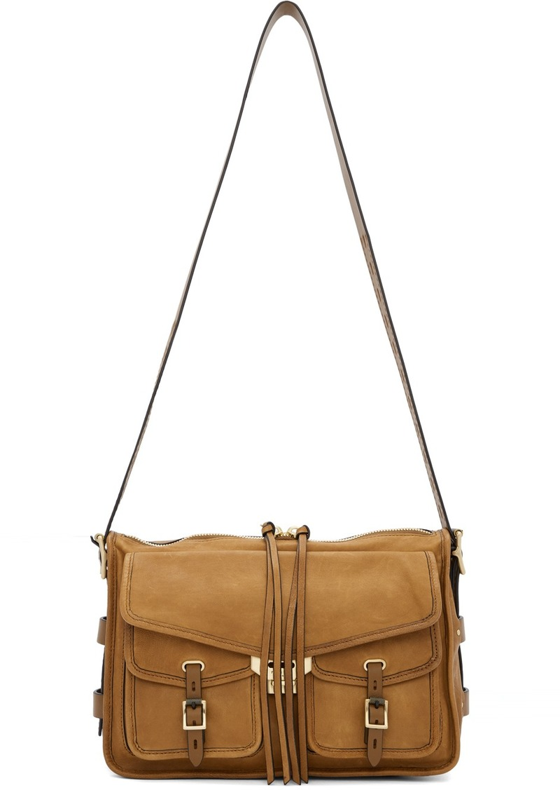 rag & bone Brown Field Messenger Bag
