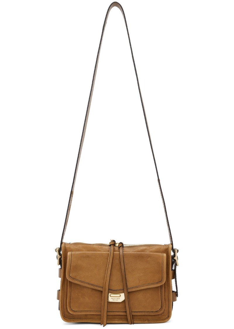 rag & bone Brown Small Field Messenger Bag