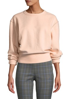 Rag & Bone Brushed Inside Out Terry Sweatshirt