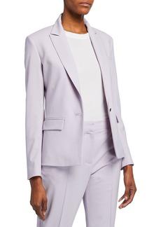 rag & bone Cairo Wool Single-Button Blazer