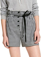 rag & bone Camille Gingham Shorts
