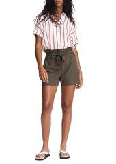 rag & bone Camille Seersucker Paperbag Shorts