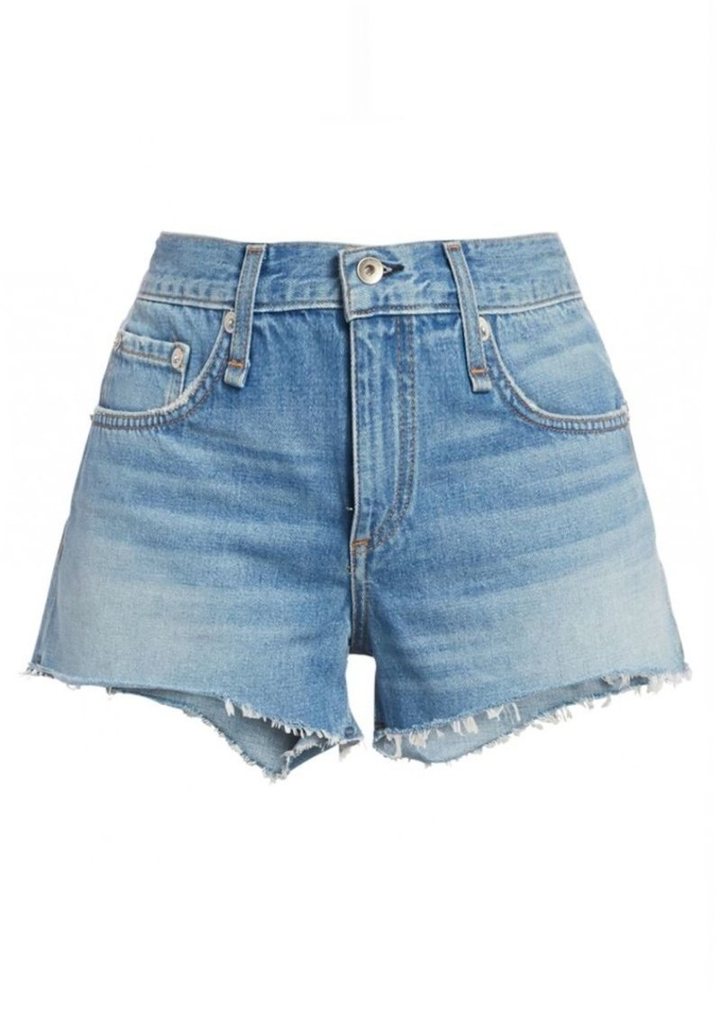 rag & bone Cate Cutoff Denim Shorts