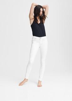 rag & bone Cate Mid-Rise Skinny - White