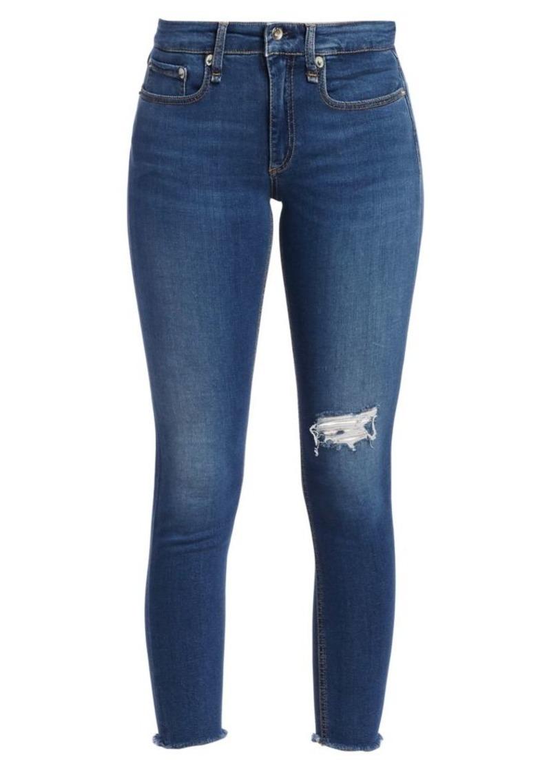 rag & bone Cate Mid-Rise Skinny Ankle Jeans