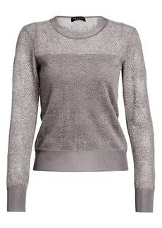 rag & bone Charlotte Buffalo Check Crewneck Sweater