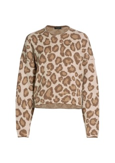 rag & bone Cheetah Print Sweater