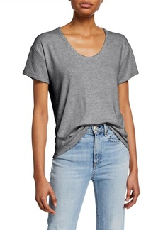 rag & bone Clara Torqued Cropped Tee