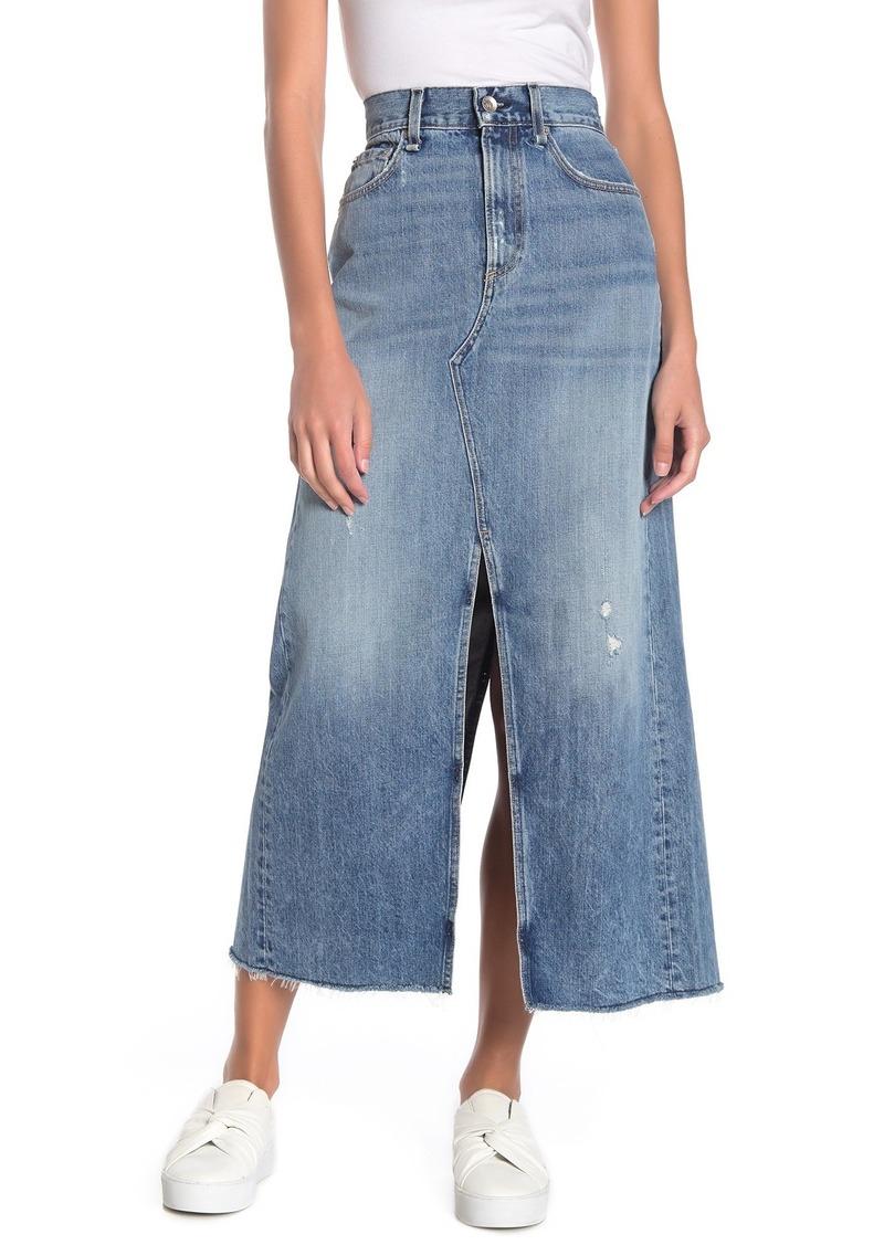 rag & bone Clyde Denim Skirt