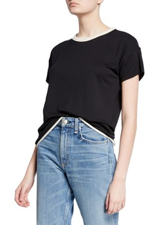 rag & bone Coast Crewneck Short-Sleeve Tee