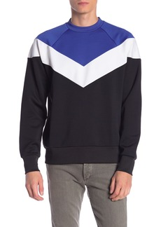 rag & bone Colorblock Crew Sweatshirt