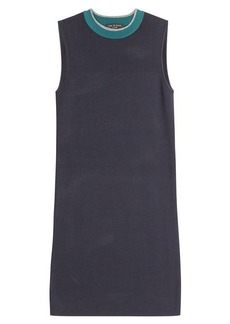 Rag & Bone Colorblock Mini-Sweater Dress