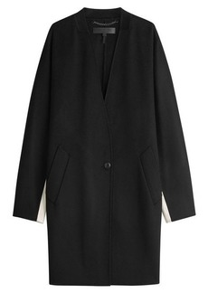 Rag & Bone Colorblocked Wool Coat