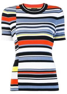Rag & Bone colour-block fitted T-shirt