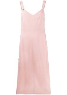 rag & bone contrast trim dress