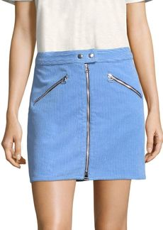 Rag & Bone Corduroy Zip Skirt
