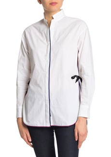 rag & bone Corey Side Tie Button Down Shirt