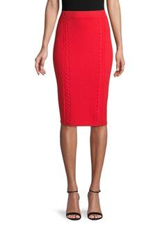 rag & bone Cotton-Blend Pencil Skirt