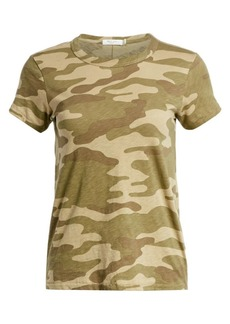 rag & bone Cotton Camo Tee