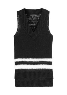 Rag & Bone Cotton Knit Halter Top