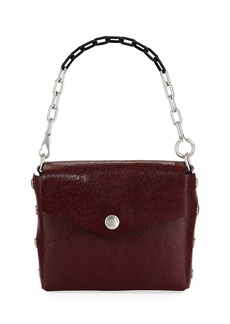 rag & bone Crackle Leather Atlas Shoulder Bag