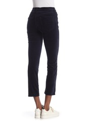 Rag & Bone Crop Velvet Bootcut Pants