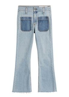 Rag & Bone Cropped Flared Jeans